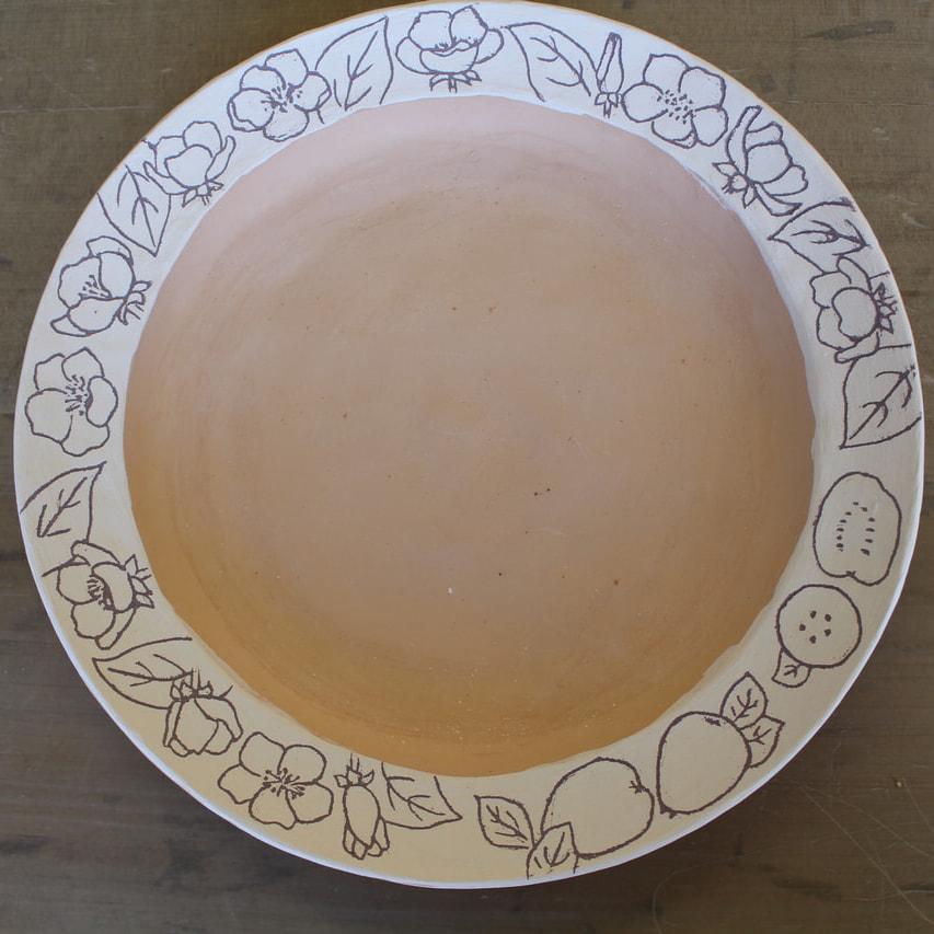 象嵌のお皿