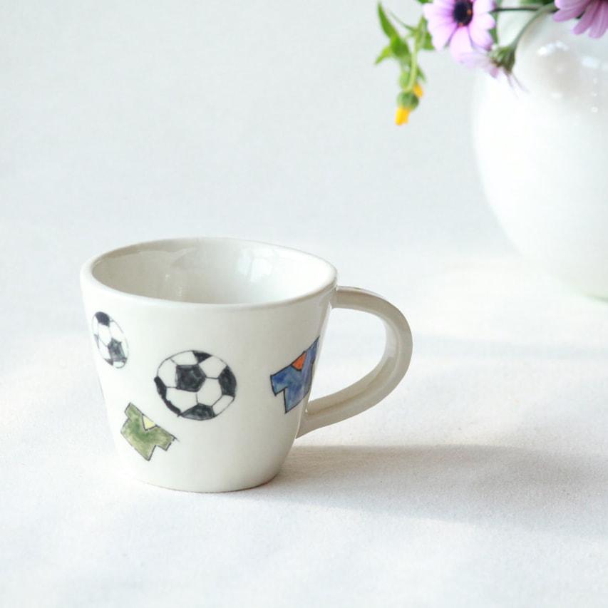 サッカーボールのカップ
