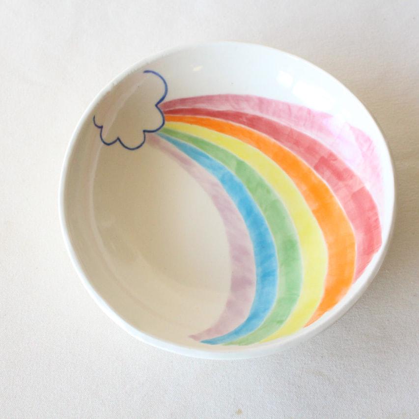 虹色のうつわ