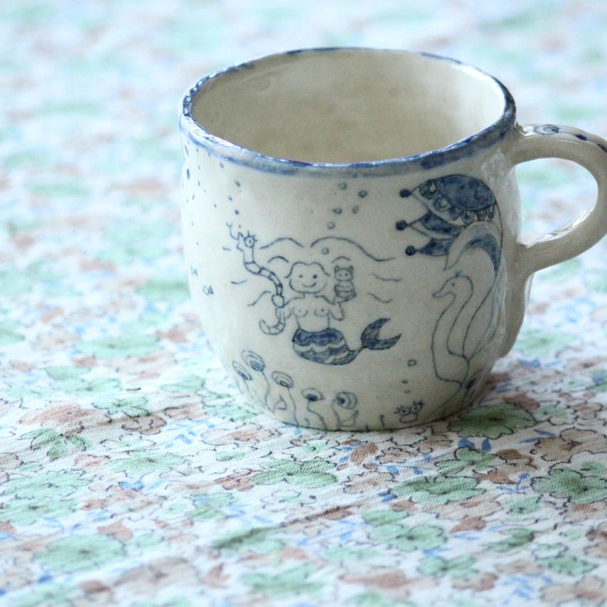 人魚のカップ